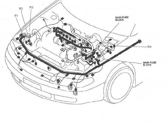 1991 mazda 626 fuse box diagram