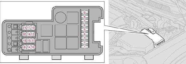 2001 2009 volvo s60 and s60 r fuse box diagram fuse diagram. Black Bedroom Furniture Sets. Home Design Ideas