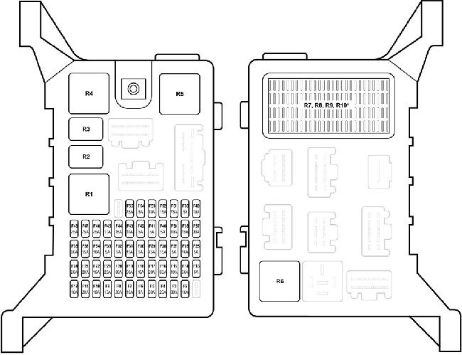jaguar x type fuse box diagram fuse diagram rh knigaproavto ru 2004 jaguar x-type fuse box layout