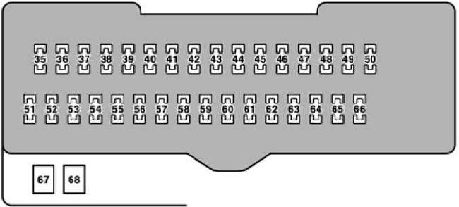 04–'06 lexus rx 330 fuse box diagram  knigaproavto.ru