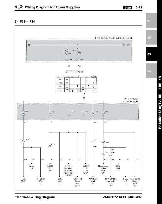 электрическая схема газ 69