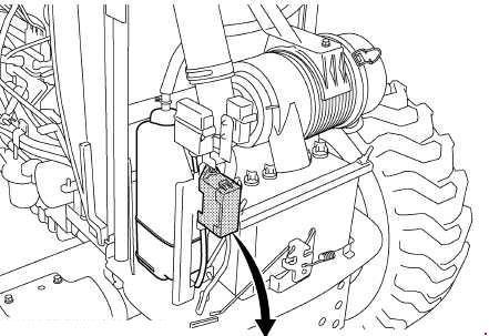 Kubota L4600 Fuse Box Diagram
