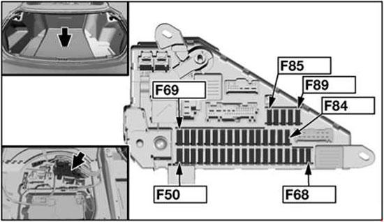 bmw z4 fuse box location 2004-2010 bmw 6 (e63, e64) fuse box diagram » fuse diagram bmw e64 fuse box location