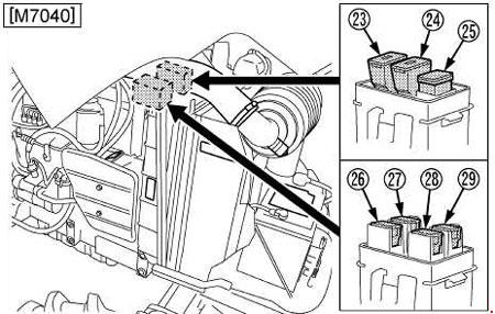 Kubota Power Krawler M8540 Narrow Fuse Box Diagram Fuse