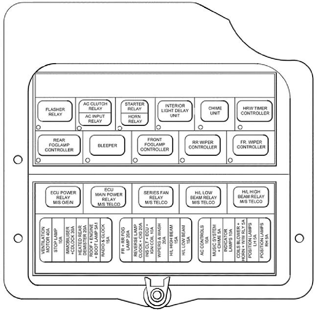 2006 Ford Focus Zx4 Fuse Box : Zx ford focus stereo wiring diagram