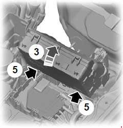 Схема предохранителей и реле Ford Ranger (T6; 2011-2018)