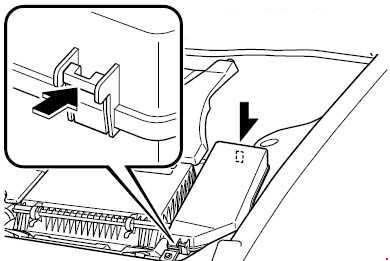 rx8 interior fuse box