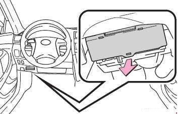 Схема предохранителей и реле Lexus ES 350 (GSV40; 2006-2012)