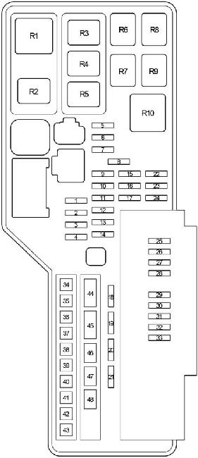 2007 2011 toyota camry xv40 fuse box diagram fuse diagram. Black Bedroom Furniture Sets. Home Design Ideas