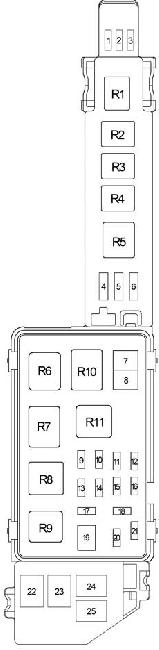 1996 2001 toyota camry xv20 fuse box diagram fuse diagram. Black Bedroom Furniture Sets. Home Design Ideas