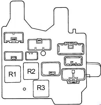 1991 1996 toyota camry xv10 fuse box diagram fuse diagram rh knigaproavto ru 2002 Toyota Camry Fuse Box Diagram 2008 Toyota Camry Fuse Box Diagram