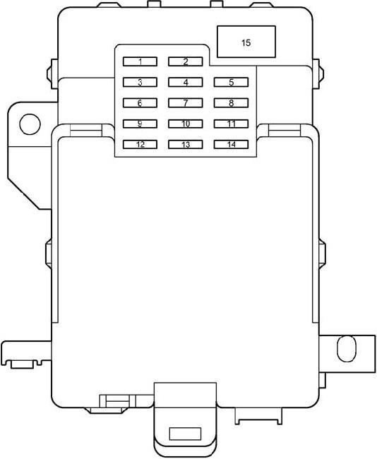 2001 2004 toyota tacoma fuse box diagram fuse diagram rh knigaproavto ru 2004 toyota tacoma interior fuse box diagram