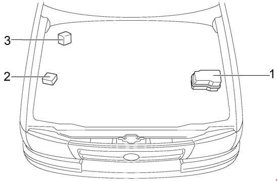 1998-2000 Toyota Tacoma Fuse Box Diagram