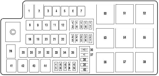 2010 ford fusion interior fuse box diagram. Black Bedroom Furniture Sets. Home Design Ideas