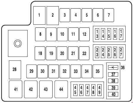 2011 fusion fuse box detailed schematics diagram rh keyplusrubber com