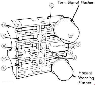 1974-1978 ford mustang fuse box diagram
