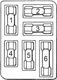 1964 ford mustang fuse box diagram