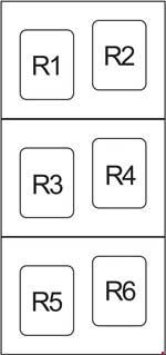 2006 2012 toyota rav4 xa30 fuse box diagram fuse diagram. Black Bedroom Furniture Sets. Home Design Ideas