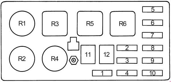 fj cruiser fuse box diagram