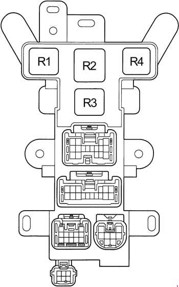 Toyota Rav4 Fuse Box Diagram : Toyota rav sxa fuse box diagram