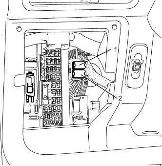 2000-2004 Renault Twingo I Fuse Box Diagram