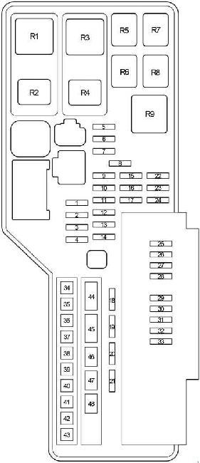 2006 2012 lexus es 350  xv40  fuse box diagram  u00bb fuse diagram