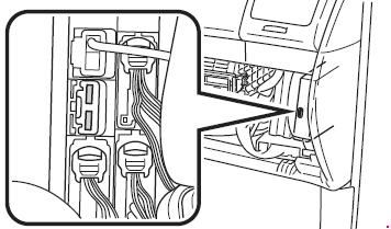 2003-2010 Toyota Sienna (XL20) Fuse Box Diagram