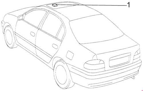 Схема предохранителей и реле Toyota Avensis / Corona (1997-2002)
