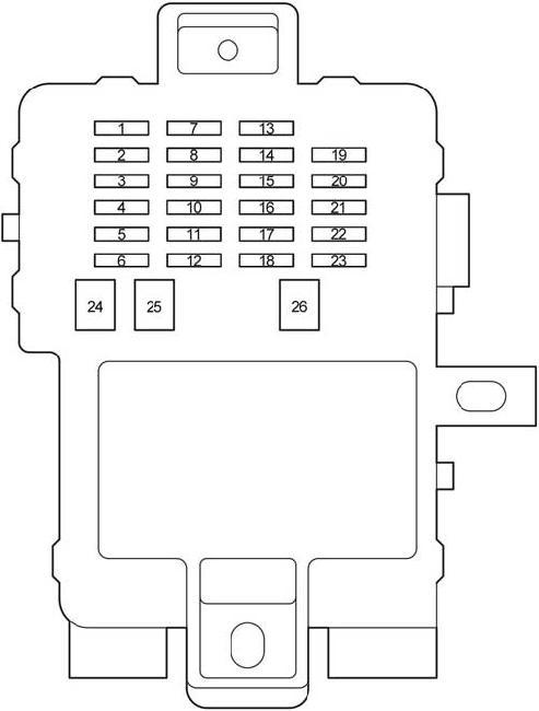 04-'06 toyota tundra double cab fuse diagram  knigaproavto.ru