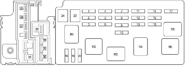 [SCHEMATICS_4UK]  04-'06 Toyota Tundra Double Cab Fuse Diagram | Fuse Box For 2003 Toyota Tundra |  | knigaproavto.ru