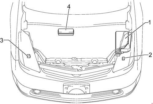 Prius V Fuse Box : Prius engine diagram wiring diagrams image free gmaili