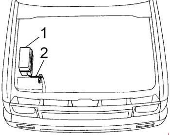 1989-1997 Toyota Hilux, T100, Pickup Fuse Box Diagram