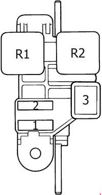 toyota 4runner engine compartment diagram 2004 4runner