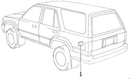 19891995 Toyota 4runner Fuse Box Diagram » Diagramrhknigaproavtoru: 1988 Toyota Pickup Truck Radio Fuse Guide At Gmaili.net