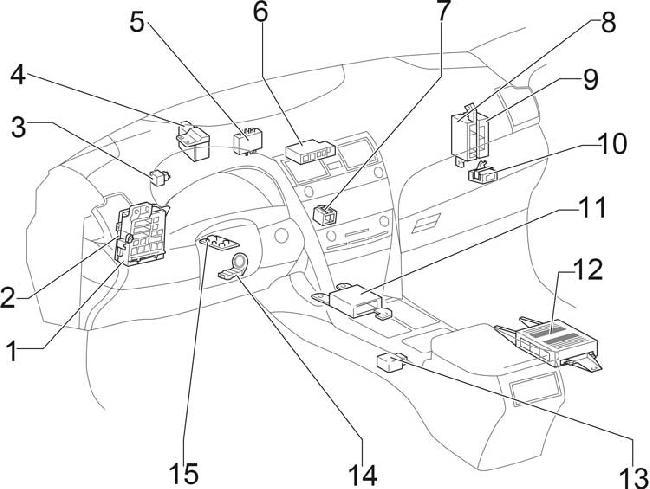 2011 toyota camry fuse box diagram
