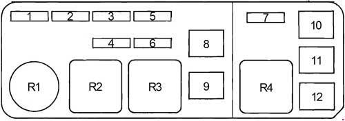 1988 1992 toyota cressida x80 fuse box diagram fuse diagram rh knigaproavto ru 1992 toyota previa fuse box location 1992 toyota pickup fuse box location