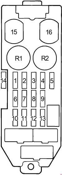 toyota cressida fuse box diagram auto electrical wiring diagram \u2022 2005 toyota corolla fuse diagram 1988 1992 toyota cressida x80 fuse box diagram fuse diagram rh knigaproavto ru 1990 toyota cressida