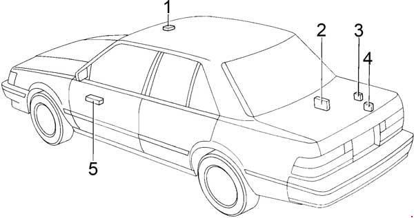 Sensational 1988 1992 Toyota Cressida X80 Fuse Box Diagram Fuse Diagram Wiring Digital Resources Ntnesshebarightsorg