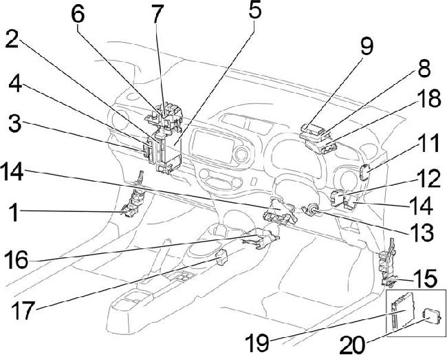 20102017 Toyota Yaris 130 Fuse Box Diagram: Toyota Yaris Fuse Box Headlights At Jornalmilenio.com