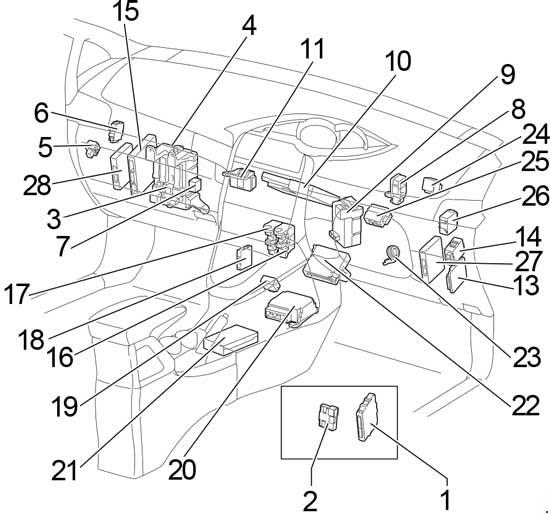 2009 2017 Toyota Verso Ar20 Fuse Box Diagram Diagram2009: Toyota Picnic Fuse Box Diagram At Johnprice.co