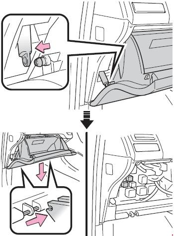 Схема предохранителей и реле Toyota Corolla 150 (2006-2013)