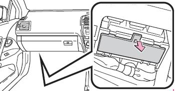 Схема предохранителей и реле Toyota Avensis (2009-2017)