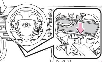 2009-2017 Toyota Avensis (T270) Fuse Box Diagram
