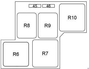 2011 toyota sienna fuse box diagram 2009-2015 toyota prius (xw30) fuse box diagram » fuse diagram #12