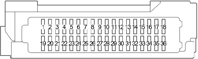2015-2017 toyota prius (xw50) fuse box diagram