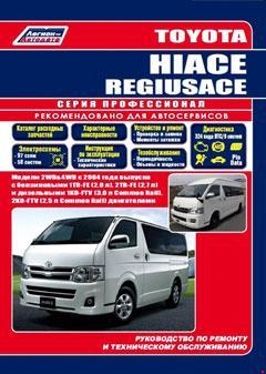 Схема предохранителей и реле Toyota HiAce (2004-2013)