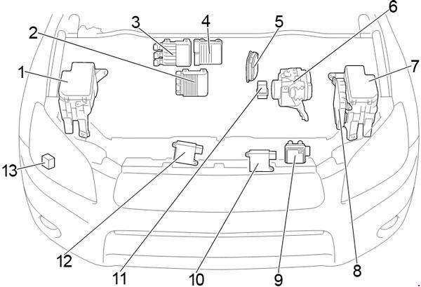 [DHAV_9290]  06-'12 Toyota RAV4 Fuse Diagram | 2007 Rav4 Engine Diagram |  | knigaproavto.ru