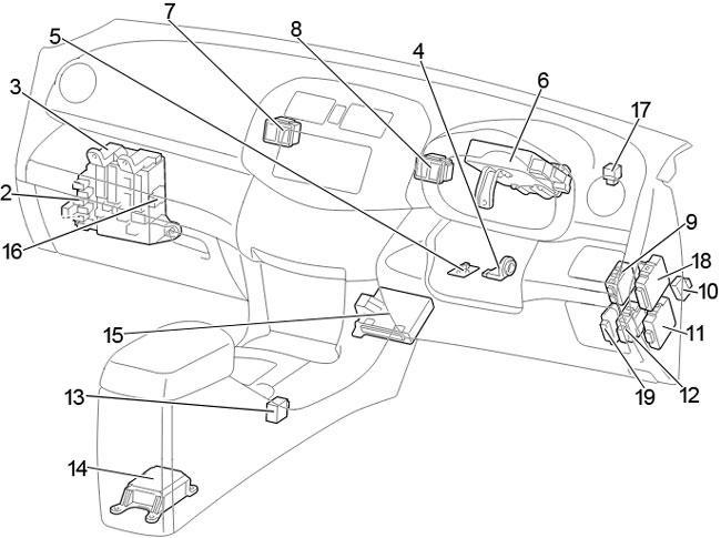 [WLLP_2054]   06-'12 Toyota RAV4 Fuse Diagram | 2007 Rav4 Engine Diagram |  | knigaproavto.ru