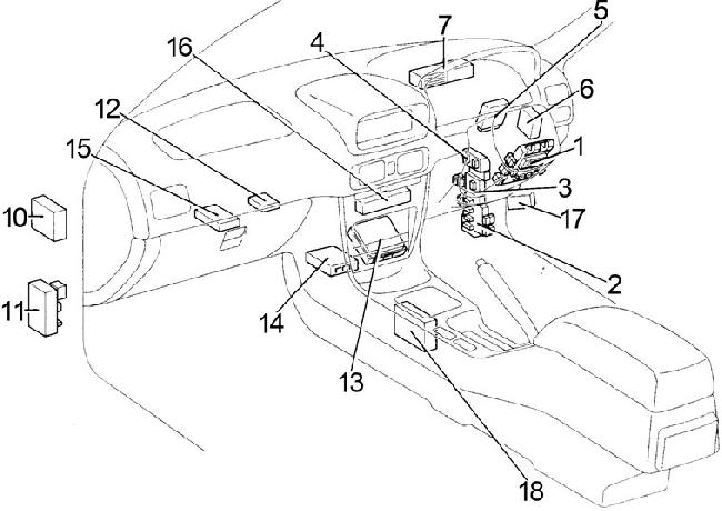 95 Impreza Fuse Box Electrical Circuit Electrical Wiring Diagram