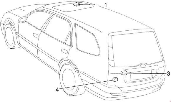 Схема предохранителей и реле Toyota Corolla (1995-2002; E110)